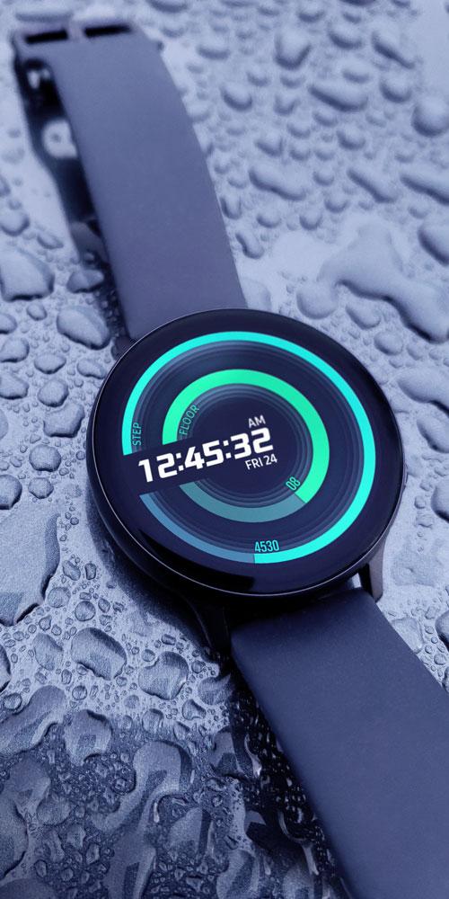 Galaxy Watch Active2 <br>Water Drops