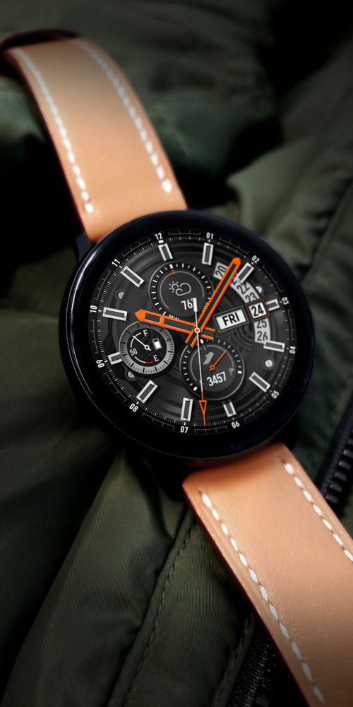 Galaxy Watch Active2 <br>Green Jacket