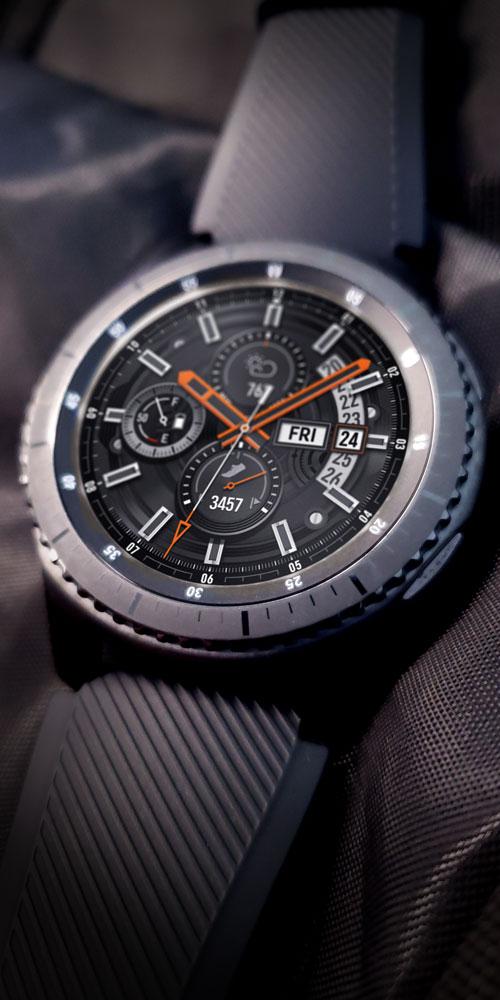Gear S3 <br>Black Fabric