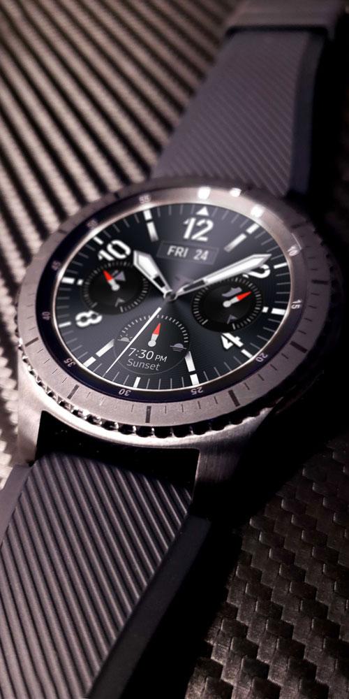 Gear S3 <br>Techno Fabric