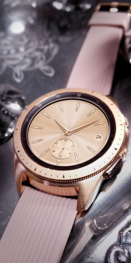 Galaxy Watch <br>Silver Platter