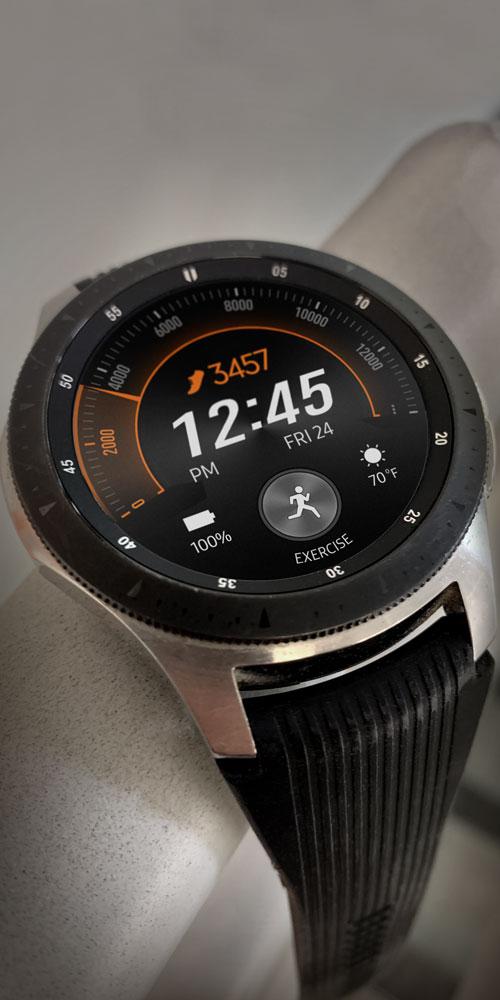 Galaxy Watch <br>Railing