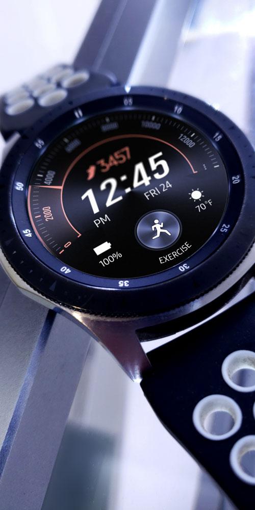 Galaxy Watch <br>Silver Beam