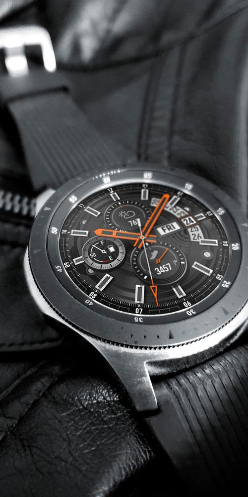 Galaxy Watch <br>Leather Jacket