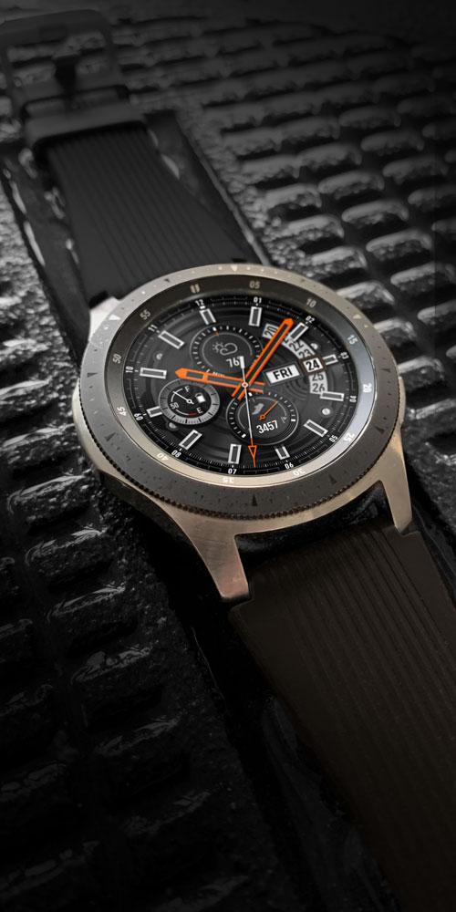Galaxy Watch <br>Black Tread