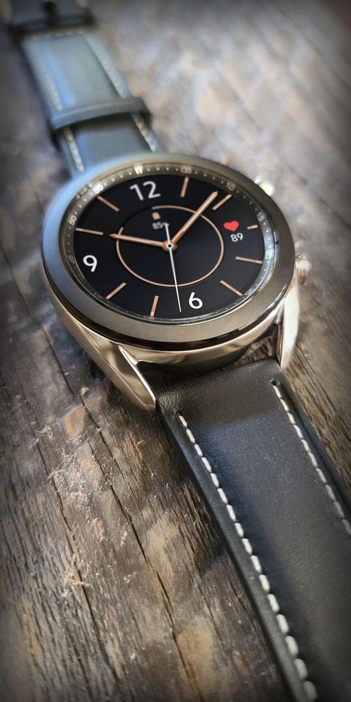 Galaxy Watch3 <br>Wood Grain