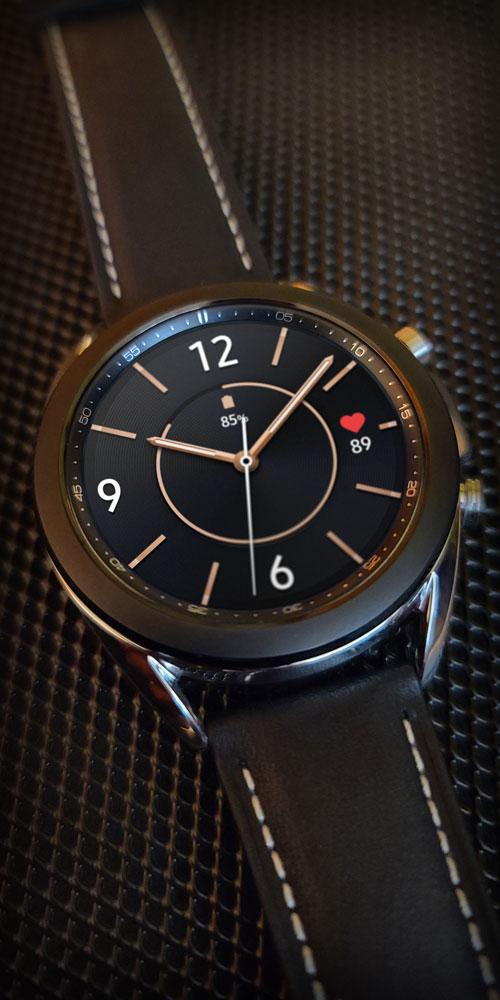 Galaxy Watch3 <br>Black Mesh