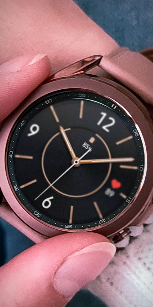 Galaxy Watch3 <br>Fingers