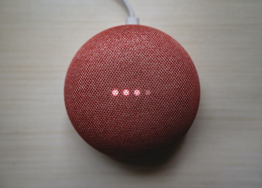 Photo of a Google Home by Clay Banks