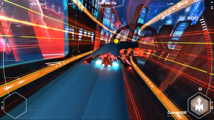 Figure 1. Futuracer game