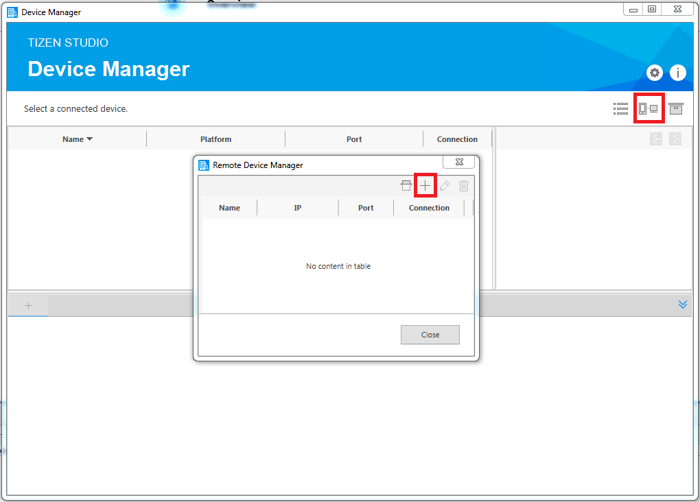 Figure 6. Remote Device Manager