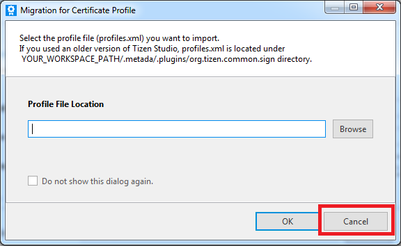 Figure 2. Migration for Certificate Profile