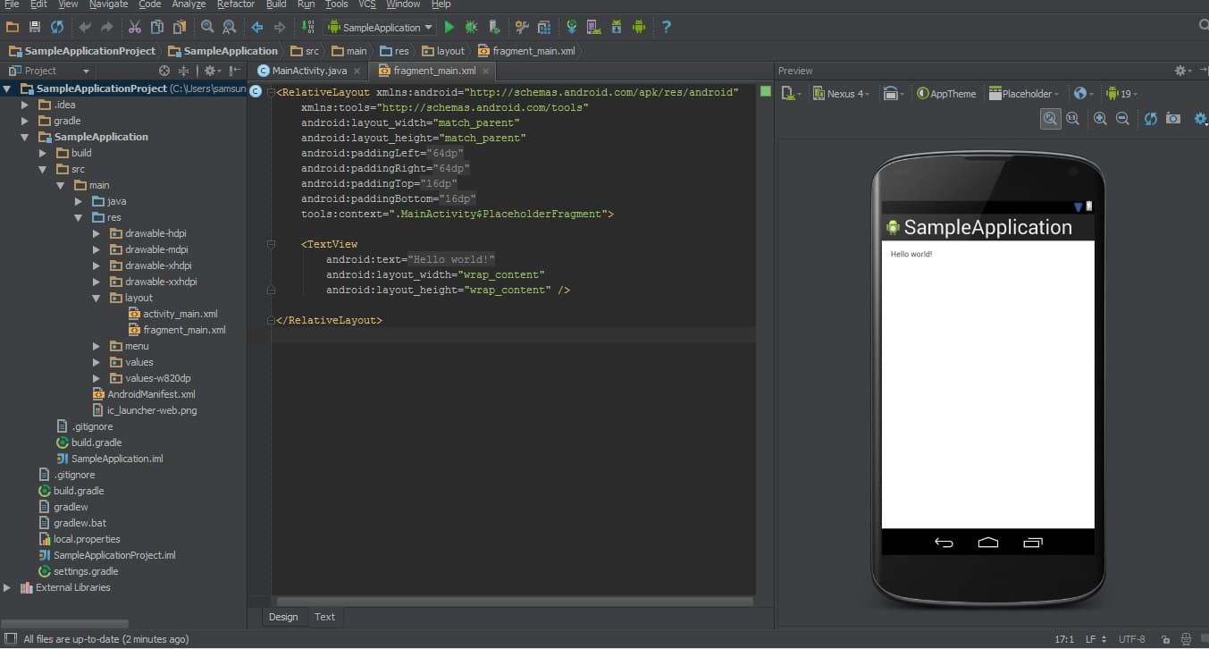 Overview of the Android Studio | SAMSUNG Developers