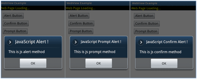 Figure 5: JavaScript Example Output