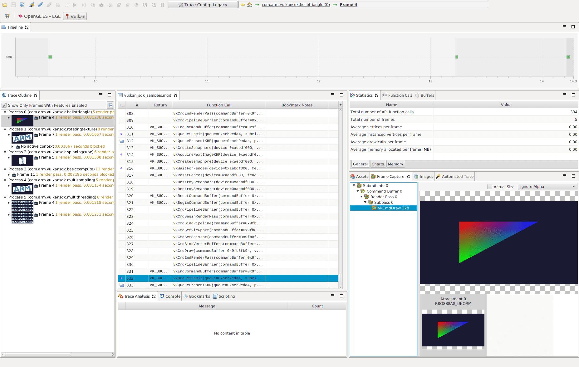 Arm Mali Graphics Debugger | SAMSUNG Developers
