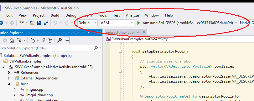 Porting NDK code to Visual Studio | SAMSUNG Developers