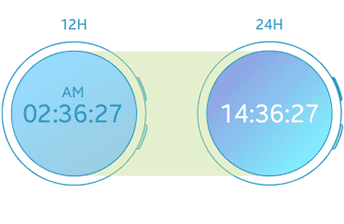 Watch faces can also change according to step count.