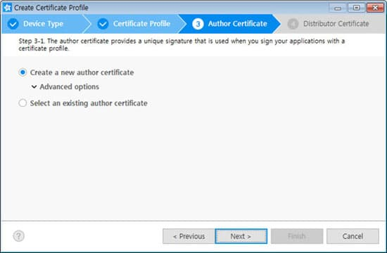 Creating Certificates | SAMSUNG Developers