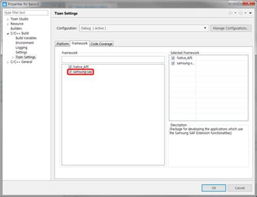 Navite-Use the Samsung Accessory Protocol (SAP) API
