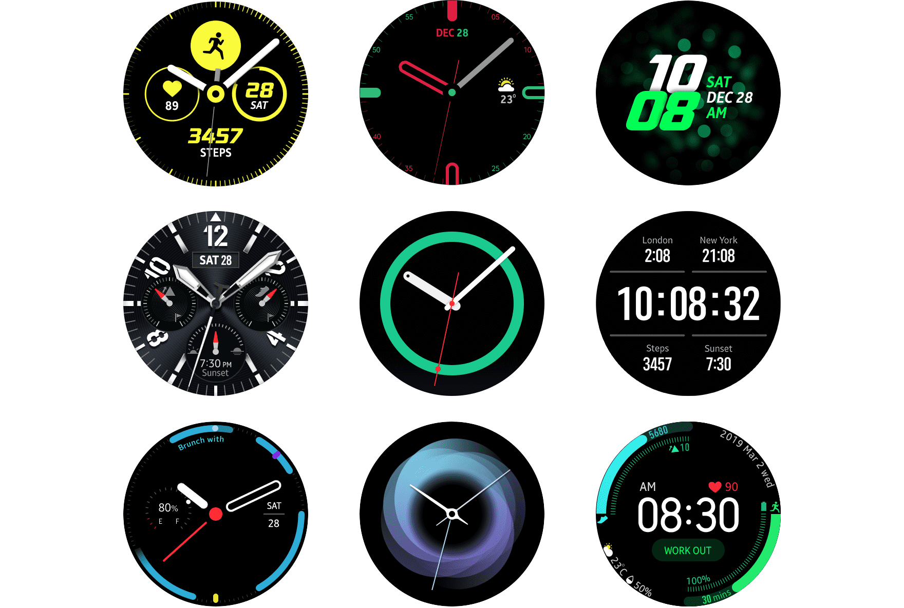 Watch Face | SAMSUNG Developers