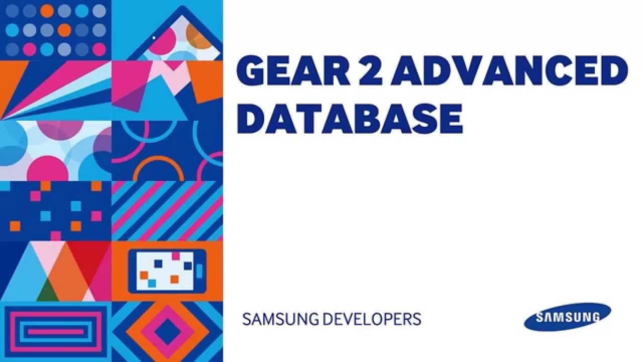 Advanced Gear2 Database Development