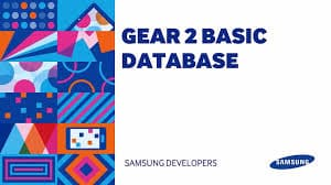 Basic Gear2 Database Development
