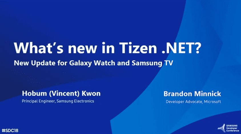 What's New in Tizen .NET? - New Update for Galaxy Watch and Samsung TV