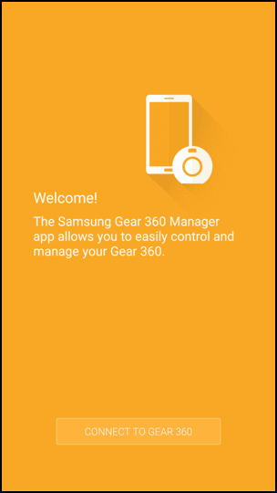 Figure 1  Gear 360 Manager