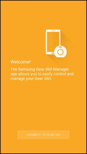 The Gear 360 App | SAMSUNG Developers