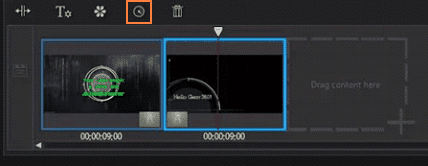 Figure 17 Editing Video lengths