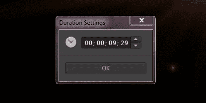 Figure 16 Time/Duration Setting