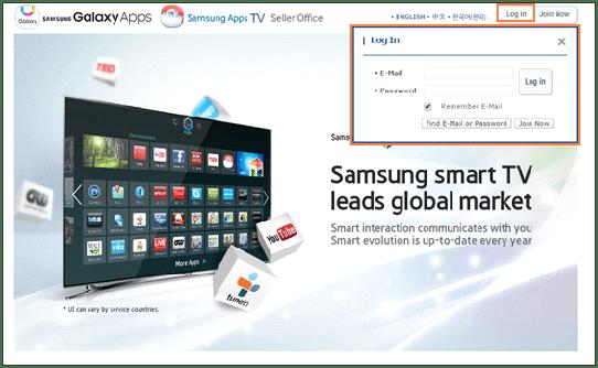 Selling the Smart TV App   SAMSUNG Developers