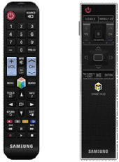Figure 9 Basic Remote (L) and Smart Control 2015 (R)