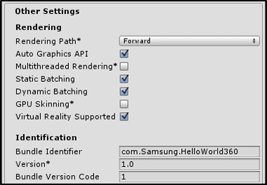 Figure 15 Other Settings