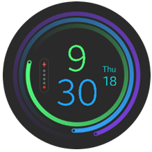 Figure 1 The Final Watch Face
