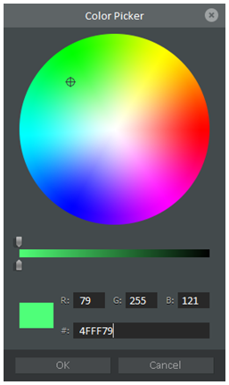 Figure 11 Color Picker Window