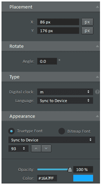 Figure 12 Digital Clock Minute Settings