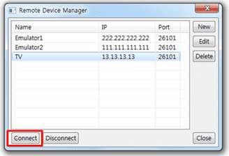 Figure 14 Connect TV Device to the IDE