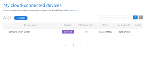 Figure 5 Closing My cloud-connected devices page