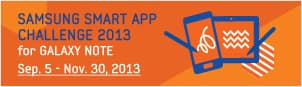 Samsung Smart App Challenge 2013 for GALAXY Note