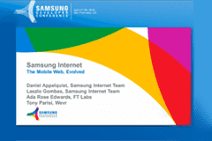 SDC 2016 | Exploring the Web and VR with Samsung Internet