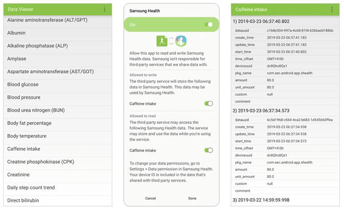 Data Viewer | SAMSUNG Developers