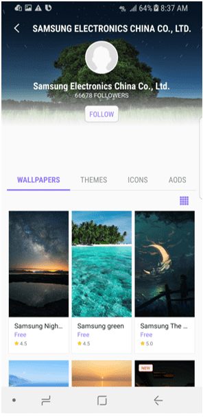 Theme App Seller Brand Page